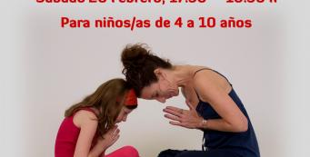Taller Yoga en Familia