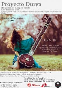 Musica con sitar Almería