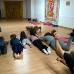 Taller de Yoga en Familia del Centro de Yoga Muladhara