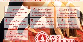 Beneficios del yoga durante el embarazo