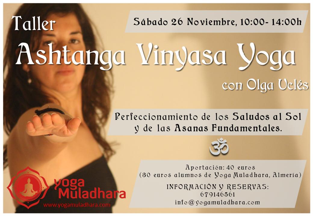 Taller Ashtanga Vinyasa Yoga Almeria