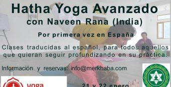 Seminario Hatha Yoga – Naveen Rana