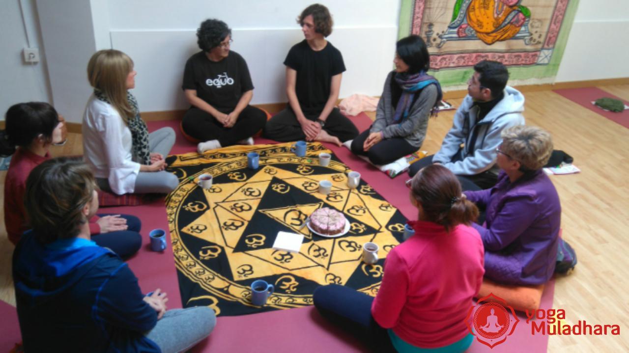 Cierre del Curso de Meditación y Atención Plena de Yoga Muladhara