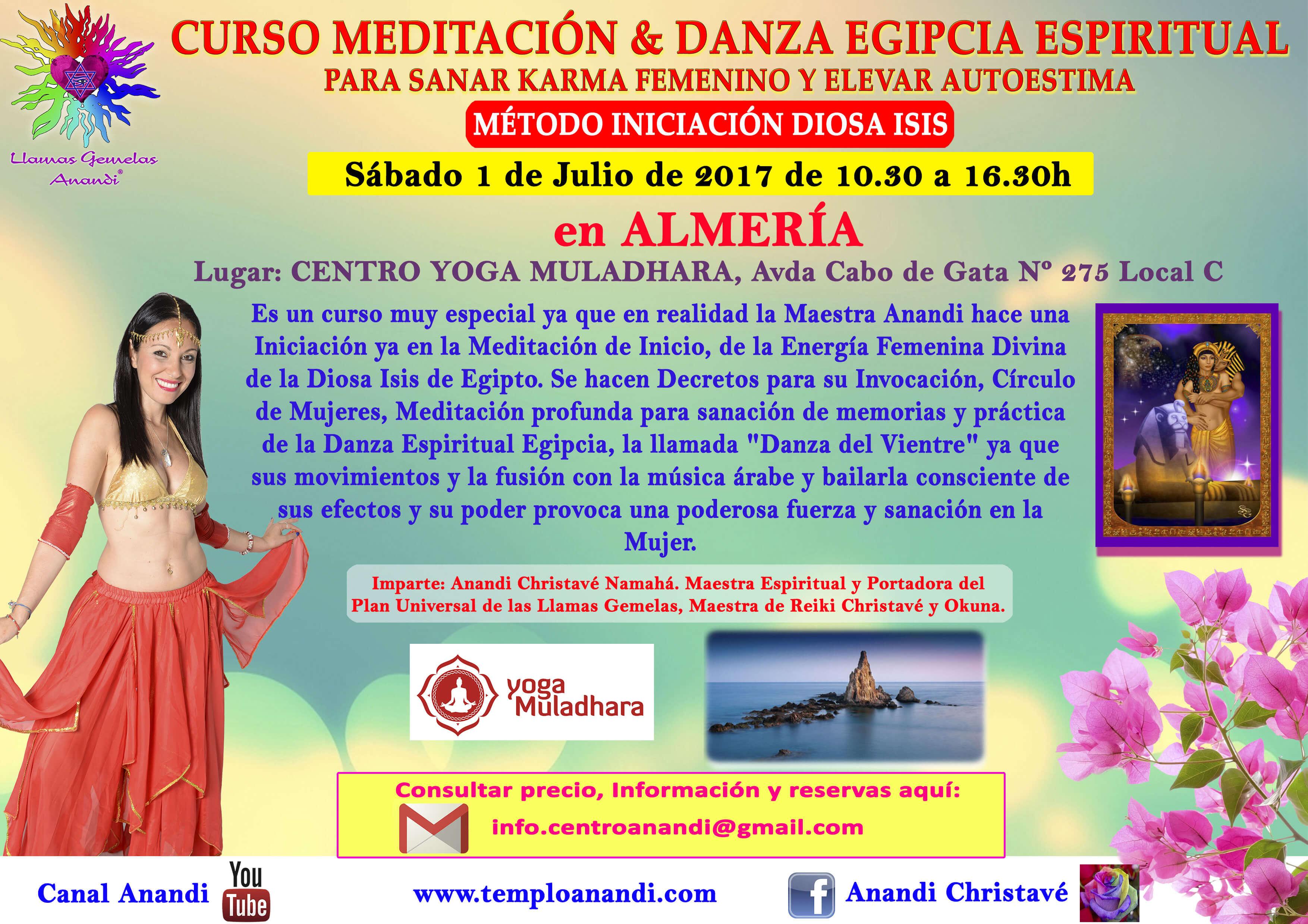 Meditación y Danza Egipcia Almería
