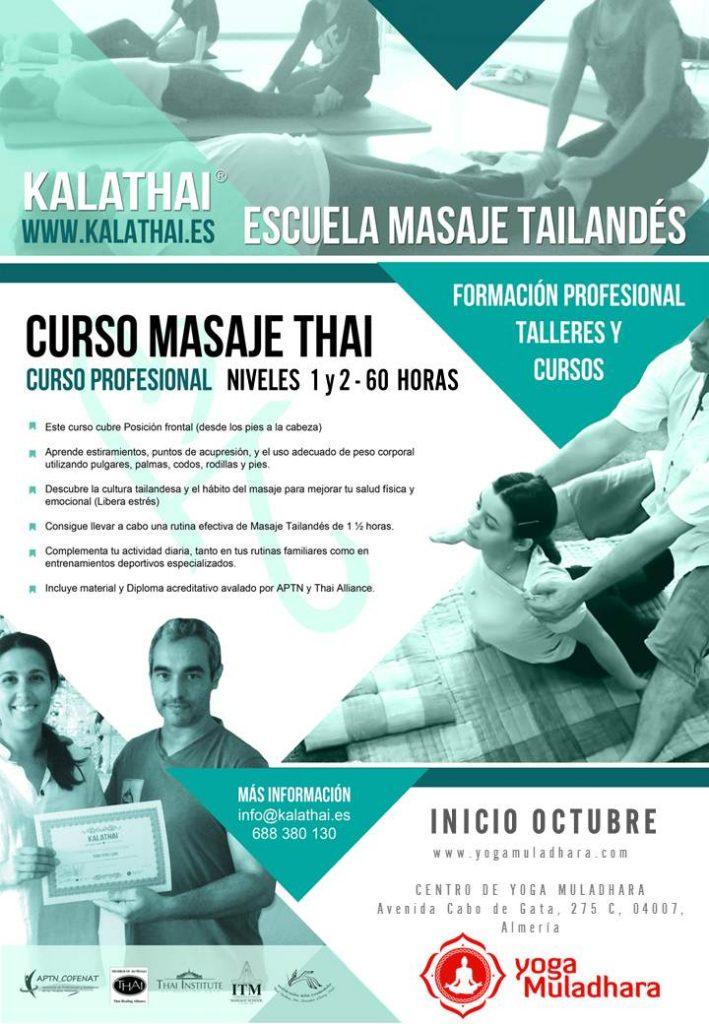 Curso Profesional Masaje Tailandés