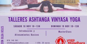 Talleres de Ashtanga Vinyasa Yoga