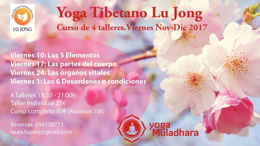 Yoga Tibetano Lu Jong en Yoga Muladhara