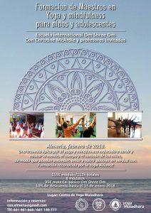Formación de Yoga para Niños en Yoga Muladhara