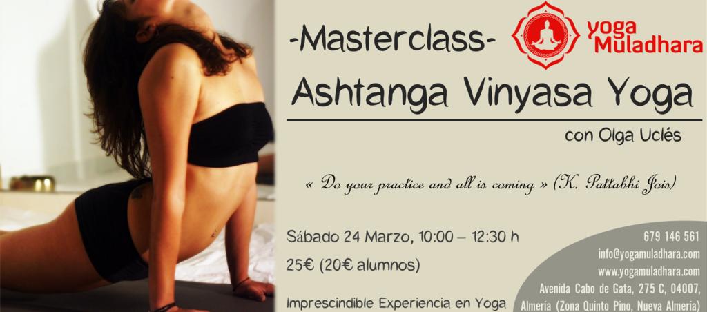 Masterclass de Ashtanga Vinyasa Yoga