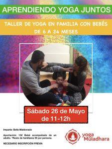 Yoga en familia con Bebés