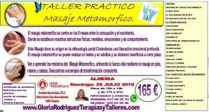 Taller de masaje metamórfico
