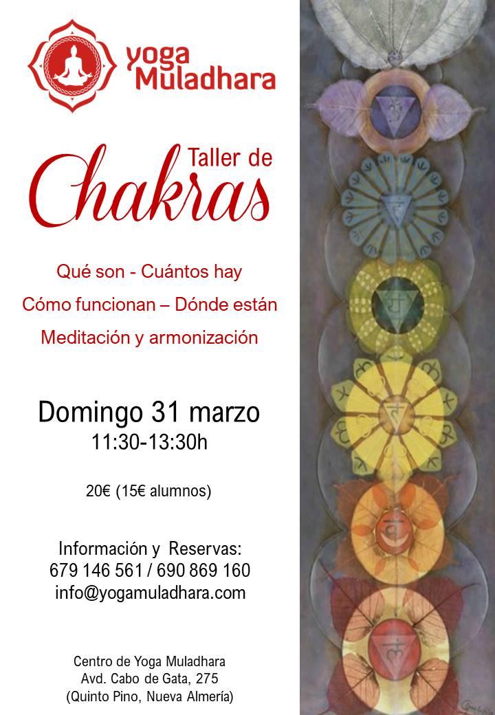 Taller de Chakras Almería