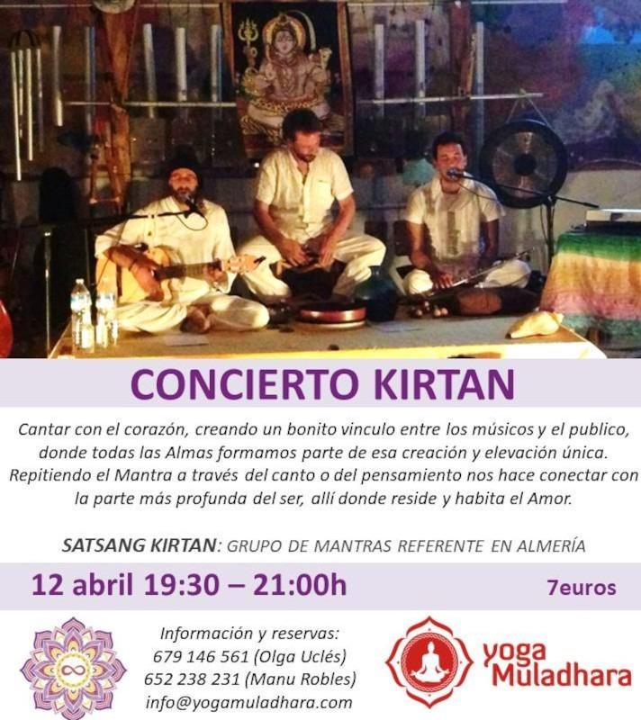 Concierto Kirtan Mantras