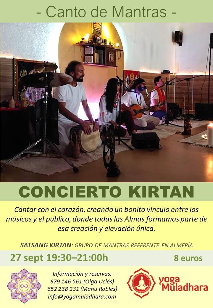 Concierto Kirtan Mantras Almería