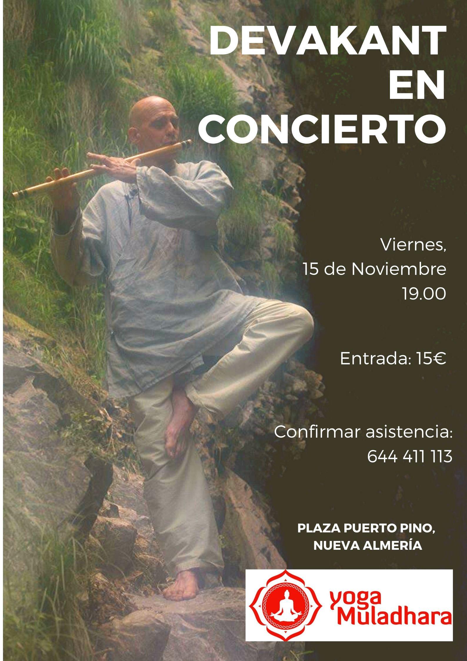 Devakant concierto Almería