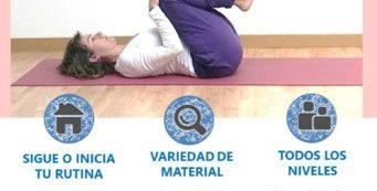 Yoga en casa durante el Estado de Alarma
