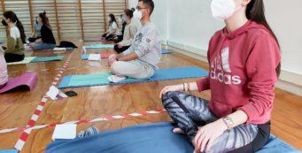 Yoga en la Universidad de Almería – Feb21